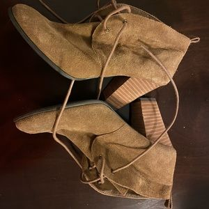 Lucky Brand heeled booties